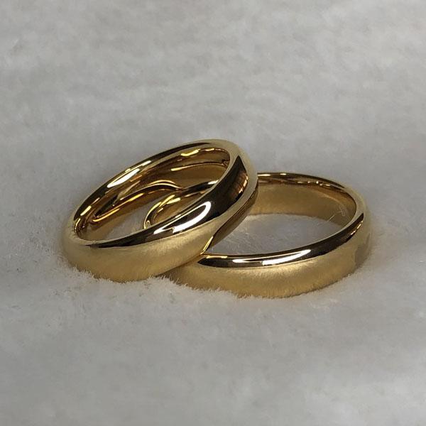 Aliança de Casamento Tungstênio
