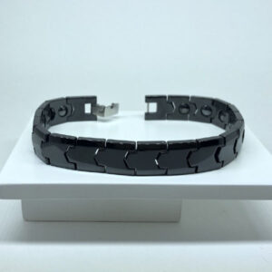 Pulseira Magnética Black Tungstênio 13mm